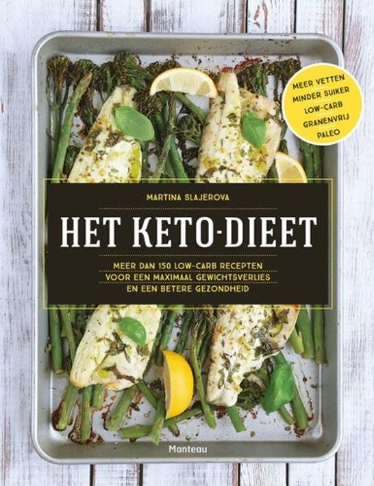 Het Keto Dieet van Martina Slajerova leert je om in ketose te komen en af te vallen.